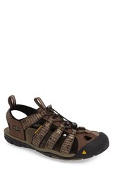 Keen Men's 'Clearwater Cnx' Sandal Canteen Brindle