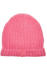 Sandro Knitted Beanie Pink