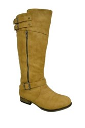 Twisted Noah Tall Boot Wide Width Available Brown