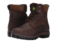 John Deere 6 Steel Toe Boot Gaucho Women's Work Boots Brown