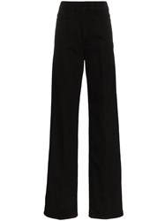 Christophe Lemaire High Waisted Wide Leg Jeans 60