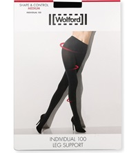 Wolford Opaque Individual 100 Tights Black
