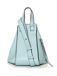 Loewe Hammock Small Leather Cross Body Bag Light Blue