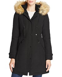Vince Camuto Active Long Puffer Coat Black
