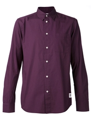 Wood Wood Classic Shirt Pink And Purple