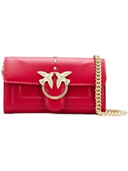 Pinko Mini Love Bag Red
