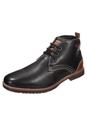 S.Oliver Laceup Boots Black