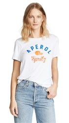 South Parade Aperol Spritz Tee White