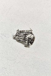 Urban Outfitters Metallica Pin Silver