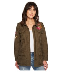Trina Turk Micki Jacket Dark Olive Women's Coat