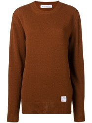 Department 5 Plain Knit Sweater Brown