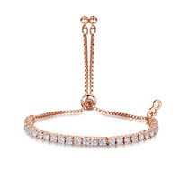 Infinity And Co Anya Bracelet Rose Gold