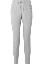 Hanro Pure Comfort Stretch Cotton Blend Jersey Track Pants Gray Gbp