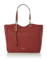 Guess Desire Tote Bag Red
