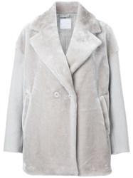 Cityshop Cocoon Coat Grey