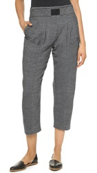 Thakoon Cropped Trousers Grey
