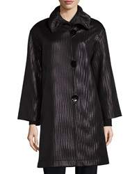 Caroline Rose Glazed Chevron Coat Women's