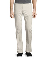 Wesc Eddy Flat Front Chino Pants Light Beige