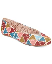 Mojo Moxy Dolce By Aztec Flats Women's Shoes Blue