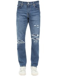 Levi's 512 Tapered Skinny Cotton Denim Jeans Blue