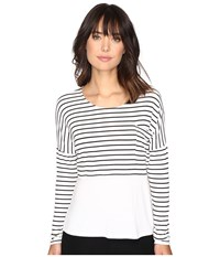 Culture Phit Maylen Long Sleeve Top With Pocket Ivory Women's Clothing White
