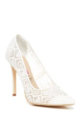 Penny Loves Kenny Tender Pump White