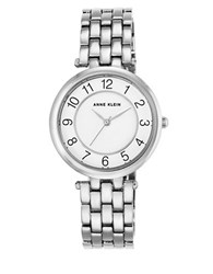 Anne Klein Stainless Steel And Mixed Metal Bracelet Watch Ak2701wtsv Silver