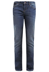 Tom Tailor Denim Stella Slim Fit Jeans Destroyed Vintage Stone Wash Blue Denim