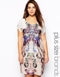 Junarose Mirror Print Shift Dress