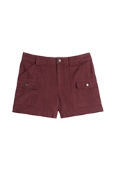 Marc By Marc Jacobs Cotton Shorts Red