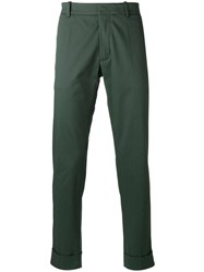 Antonio Marras Straight Trousers Green