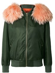 Mr And Mrs Italy Customisable Bomber Jacket Green