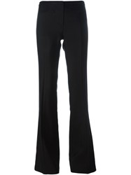 Tory Burch Flared Trousers Black