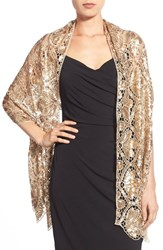 Women's Collection Xiix 'Luxurious' Sequin Wrap