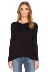 Dolan Long Sleeve Boyfriend Tee Black
