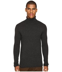 Billy Reid Fine Turtleneck Charcoal Men's Sweater Gray