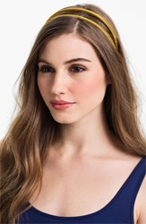 L. Erickson Double Skinny Headband Yellow Marigold