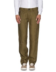Armani Jeans Trousers Casual Trousers Men Military Green