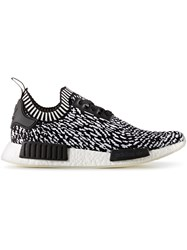 Adidas Originals Nmd R1 Primeknit Sneakers Cotton Polyester Rubber Black