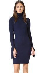 Jacquemus Turtleneck Dress Navy
