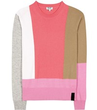 Kenzo Wool And Cashmere Sweater Multicoloured