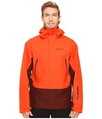 Marmot Spire Jacket Mars Orange Marsala Brown Men's Coat