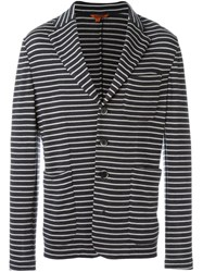Barena 'Torceo Breton' Striped Blazer Grey