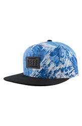 Men's Neff 'Climber' Print Snapback Cap Grey Expedition