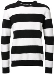 Hl Heddie Lovu Striped Jumper Black