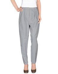 Woodwood Trousers Casual Trousers Women Light Grey