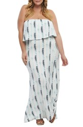 Tart Plus Size Aeryn Maxi Dress Brushed Stripe