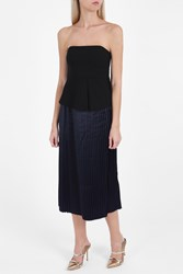 Elizabeth And James Nora Strapless Top Black