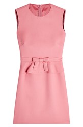 Red Valentino R.E.D. Shift Dress With Cotton Pink