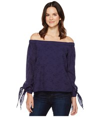 Brigitte Bailey Kalene Off The Shoulder Top Navy Women's Clothing